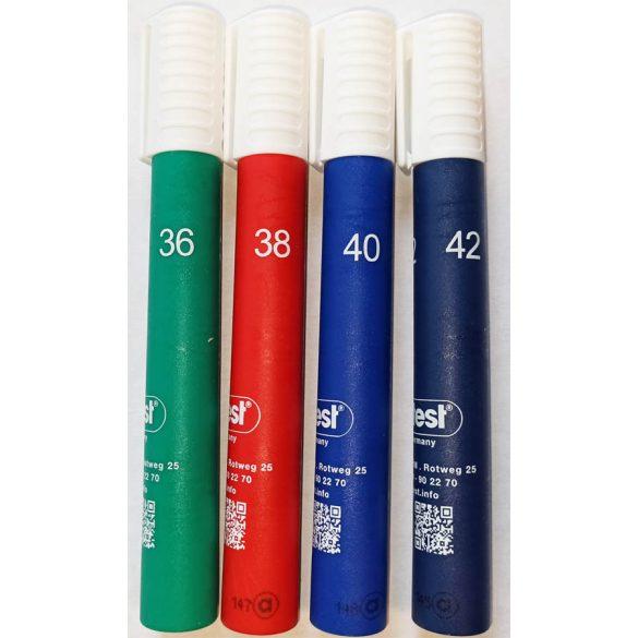 Arcotest  Pink felületi feszültség és tisztaság ellenőrző toll szett - 4 darab