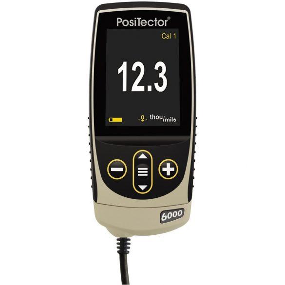 DeFelsko PosiTector 6000 FHXS1  / FHXS3 Rétegvastagság mérő külső szondával forró felületekhez