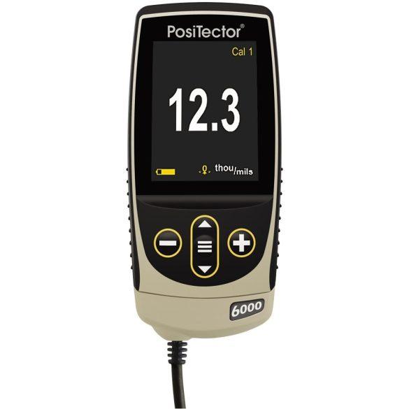 DeFelsko PosiTector 6000 FNDS1 / FNDS3 Rétegvastagság mérő külső szondával