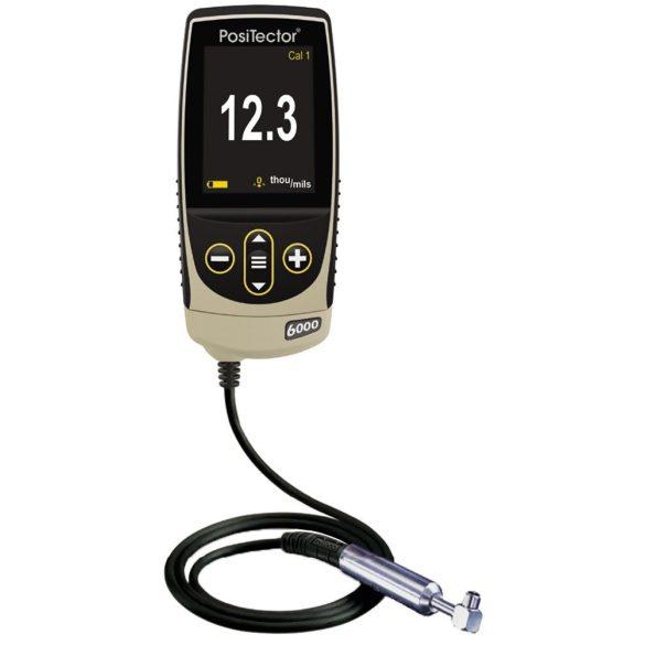 DeFelsko PosiTector 6000 N90S1 / N90S3 Rétegvastagság mérő kábeles mikroszondával