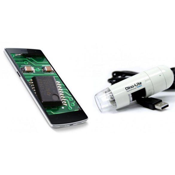 Dino-Lite digitális mikroszkóp mobiltelefonhoz AM2111