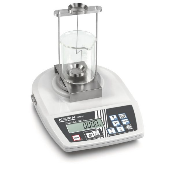 YDB-01 készlet folyadékok és szilárd anyagok sűrűségének meghatározáshoz