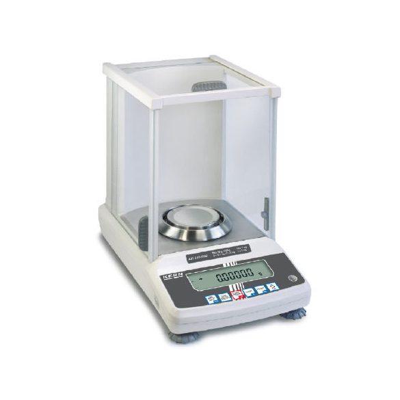 KERN ABT 220-5DNM prémium analitikai labormérleg hitelesítéssel