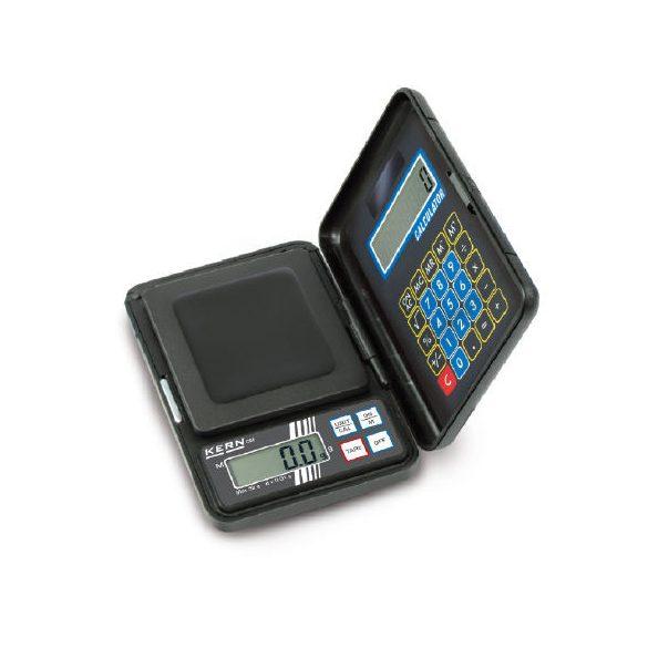 KERN CM 1K1N zsebmérleg számológéppel