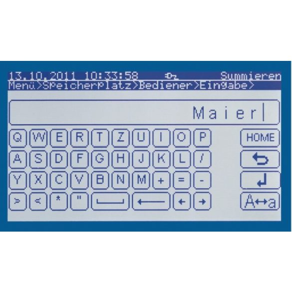 KERN IKT 150K1L érintőképernyős platform mérleg