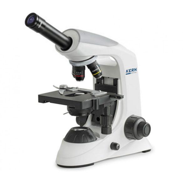 KERN OBE 131 Monokuláris biológiai mikroszkóp 40x/100x/400x/1000x