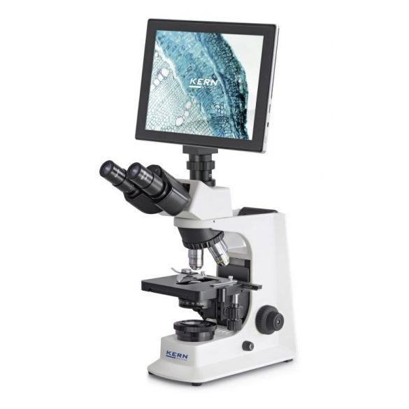 KERN OBL 137 Trinokuláris biológiai mikroszkóp 40x/100x/400x/1000x