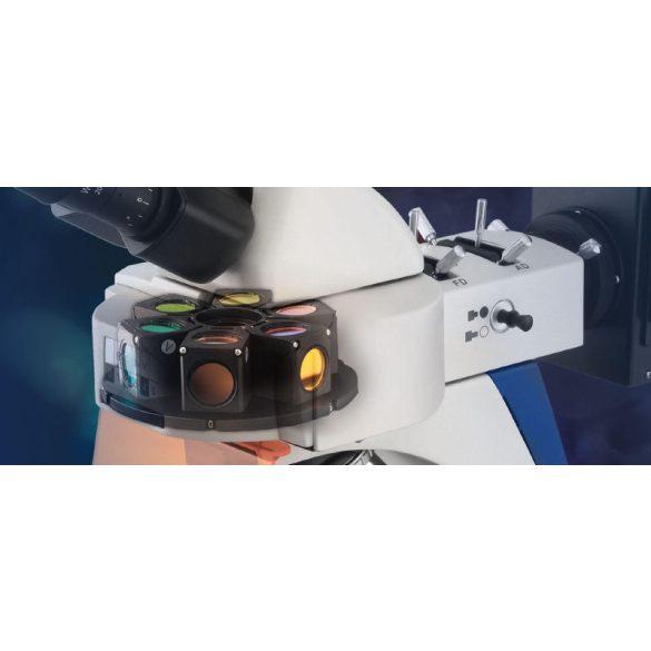KERN OBN 148 Trinokuláris fluoreszcens mikroszkóp 40x/100x/200x/400x/1000x
