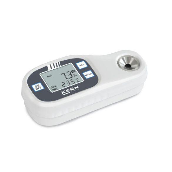 KERN ORF E Digitális refraktométer fénytörési index és Brix érték mérésére - Eco refraktométer