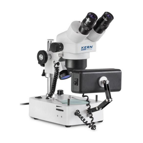 KERN OZG 493 Binokuláris ékszerész mikroszkóp 7-36x