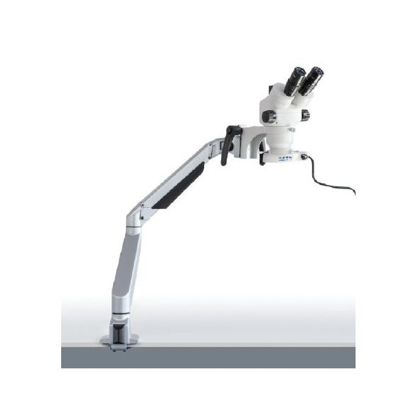 KERN OZM 983 Trinokuláris állványos sztereo zoom mikroszkóp 7x-45x