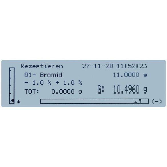 KERN PLJ 2000-3A precíziós mérleg
