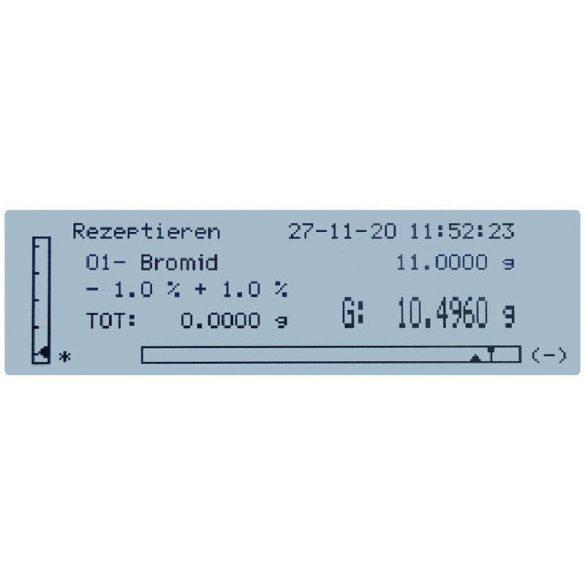 KERN PLJ 720-3AM hitelesíthető precíziós mérleg