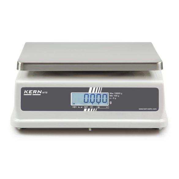 KERN WTB 3K-3NM élelmiszeripari asztali mérleg hitelesítéssel