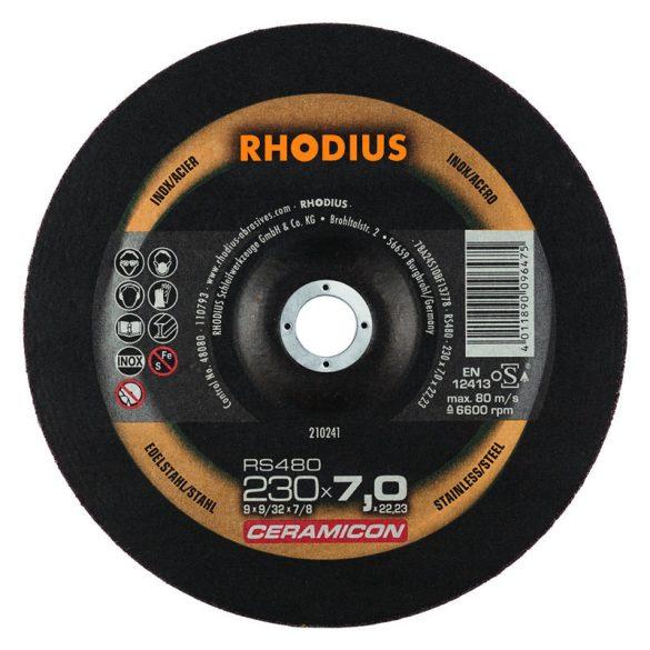 RHODIUS RS480 kerámia nagyolótárcsa 180 mm 10db/csomag