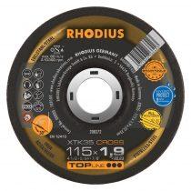 RHODIUS XTK35 CROSS vékony vágótárcsa 115 mm - 25 db/csomag