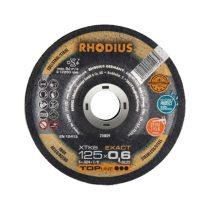 RHODIUS XTK6 EXACT vékony vágótárcsa 125 mm
