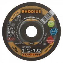 RHODIUS XT 100 extended vékony vágótárcsa 115 x 1,5 mm  - 25 db/csomag