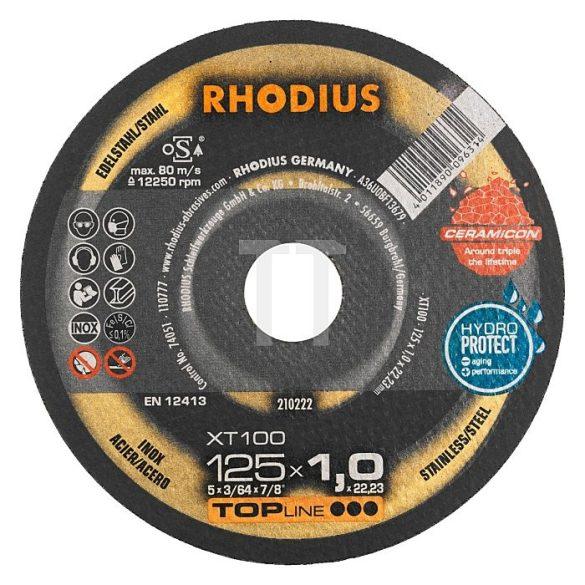 RHODIUS XT 100 extended vékony vágótárcsa 125 x 1,5 mm  - 25 db/csomag