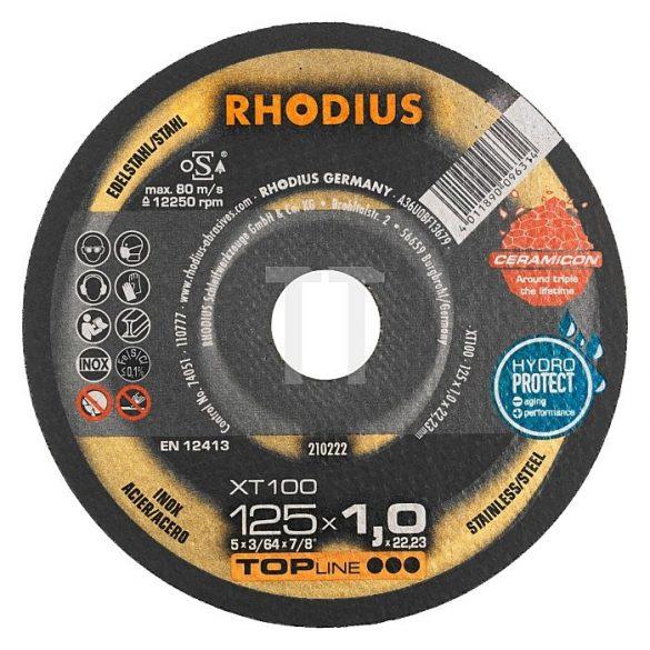 RHODIUS XT 100 extended vékony vágótárcsa 180 mm  - 25 db/csomag