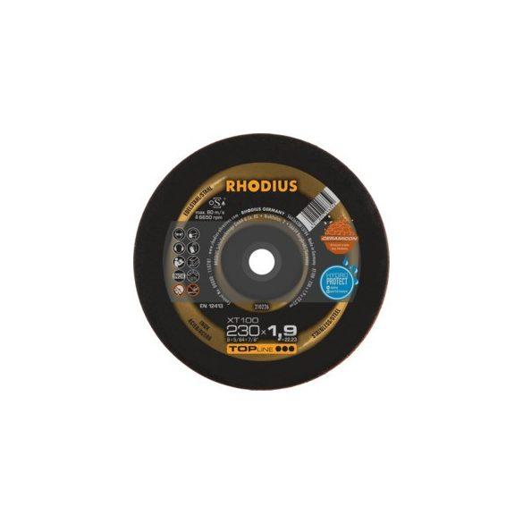 RHODIUS XT 100 extended vékony vágótárcsa 230 mm  - 25 db/csomag