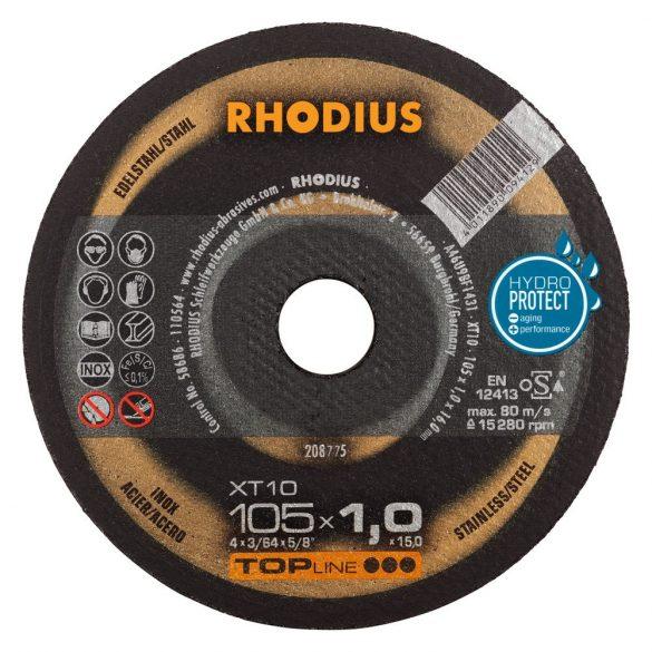 RHODIUS XT 10 vékony vágótárcsa 105 mm