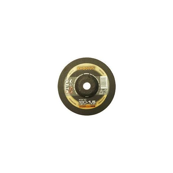 RHODIUS XT 10 vékony vágótárcsa 180 mm - 25 db/csomag