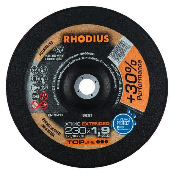 RHODIUS XT 10 vékony vágótárcsa 230 mm - 25 db/csomag