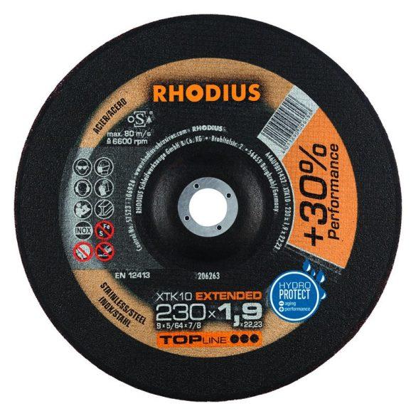 RHODIUS XT 10 vékony vágótárcsa 230 mm