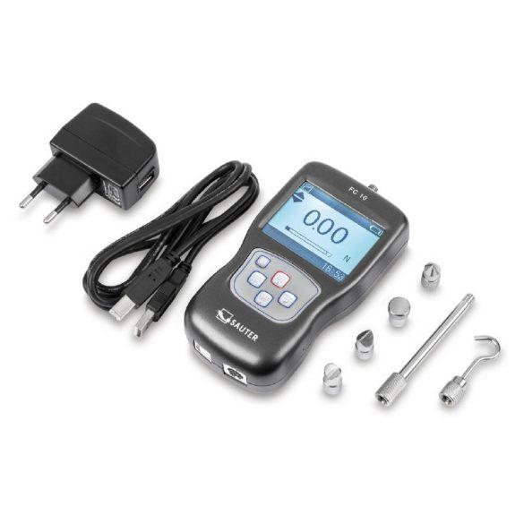 SAUTER FC 50 digitális szakítóerő-mérő eszköz