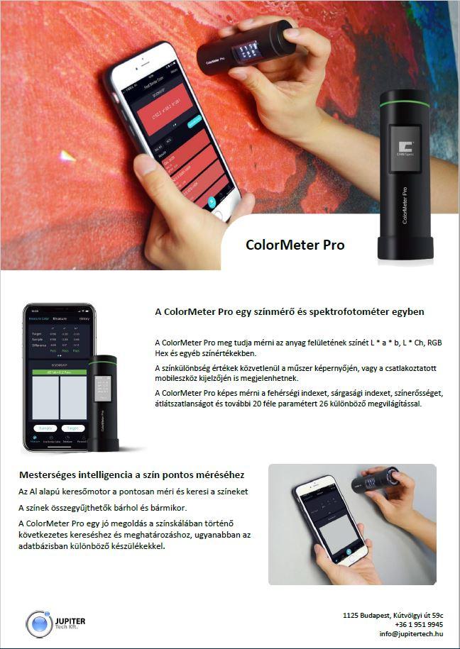 ColormeterPro kézi színmérő készülék
